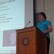 """Susan Mitchell Guest Speaker for the """"After the Heroin"""" Forum"""