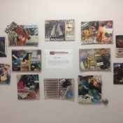 Artvention@EKU 2017 Word Collages Now Posted in Cammack Basement